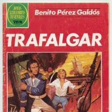 Tebeos: JOYAS LITERARIAS JUVENILES - Nº 261 - TRAFALGAR - ED. BRUGUERA - 1ª EDICIÓN - 1982. Lote 221622817