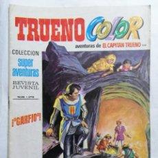 Tebeos: TRUENO COLOR, AVENTURAS DE EL CAPITAN TRUENO, Nº 1379. Lote 221638521