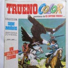 Tebeos: TRUENO COLOR, AVENTURAS DE EL CAPITAN TRUENO, Nº 1387. Lote 221638640