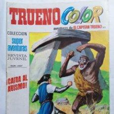 Tebeos: TRUENO COLOR, AVENTURAS DE EL CAPITAN TRUENO, Nº 1547. Lote 221638763