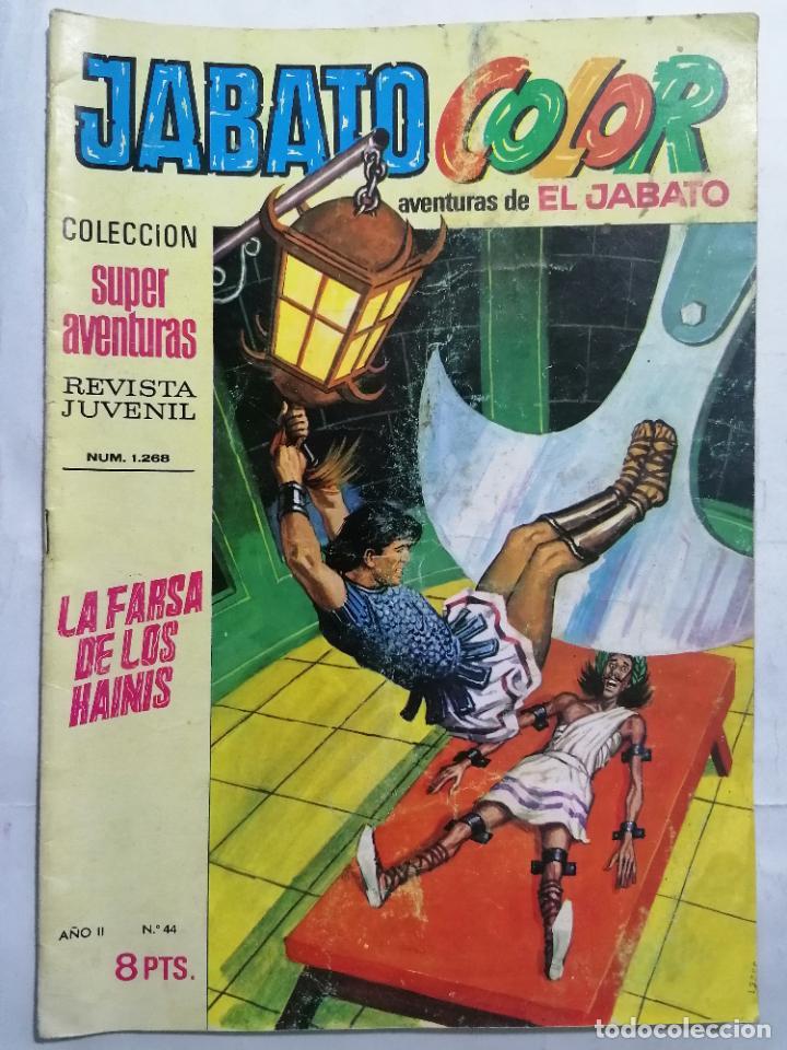 JABATO COLOR, AVENTURAS DE EL JABATO, Nº 1268 (Tebeos y Comics - Bruguera - Jabato)