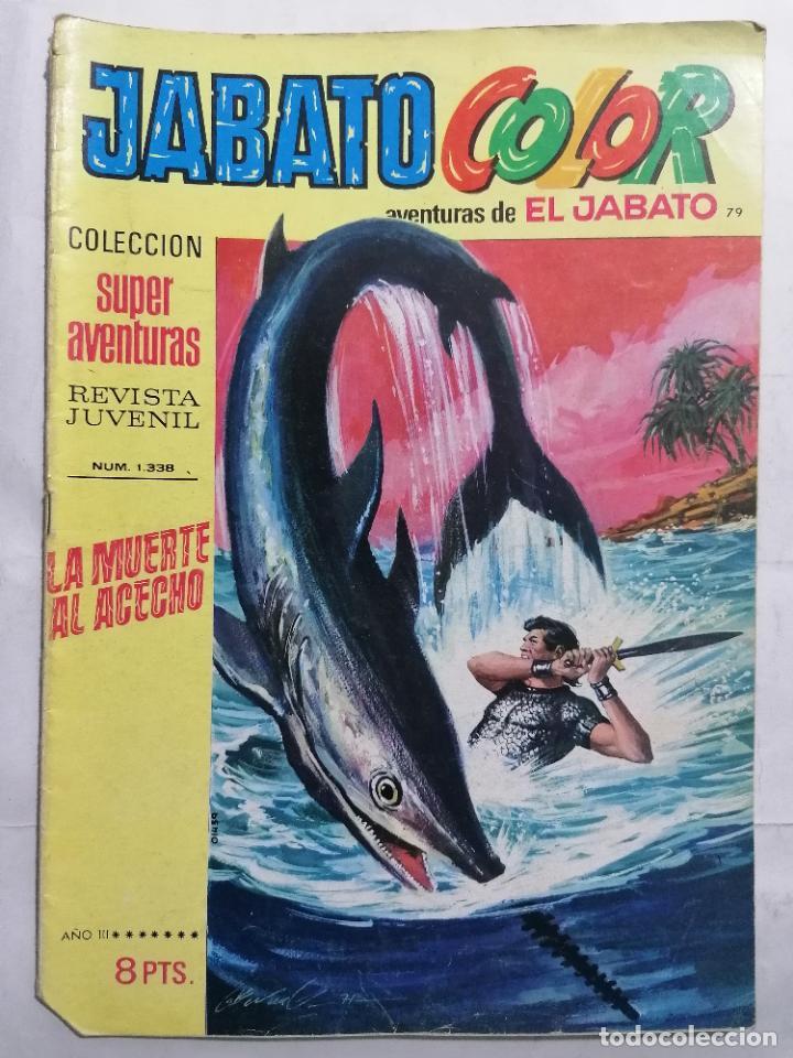 JABATO COLOR, AVENTURAS DE EL JABATO, Nº 1338 (Tebeos y Comics - Bruguera - Jabato)