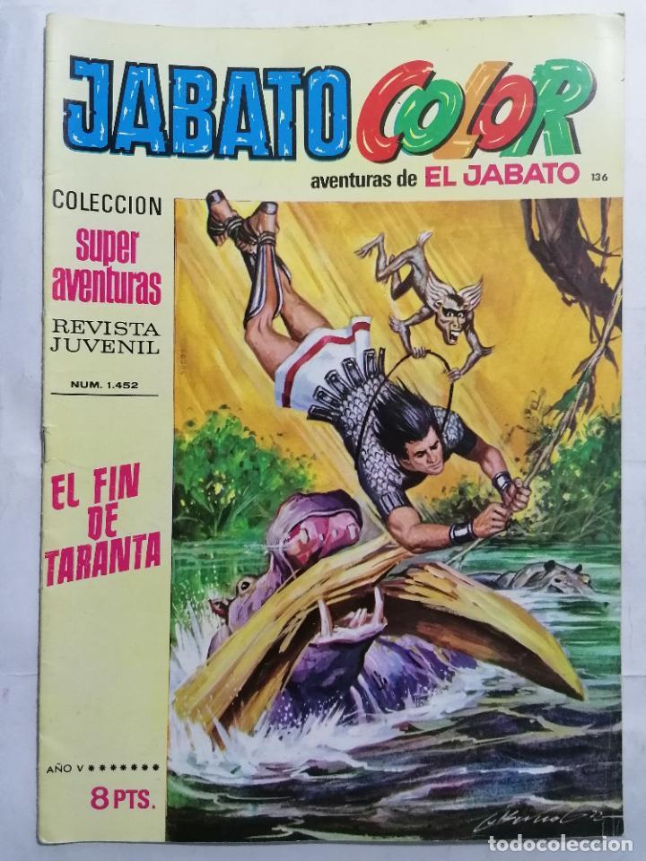 JABATO COLOR, AVENTURAS DE EL JABATO, Nº 1452 (Tebeos y Comics - Bruguera - Jabato)