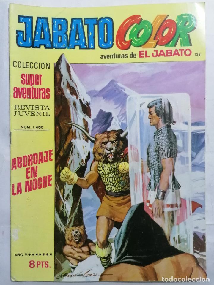 JABATO COLOR, AVENTURAS DE EL JABATO, Nº 1456 (Tebeos y Comics - Bruguera - Jabato)
