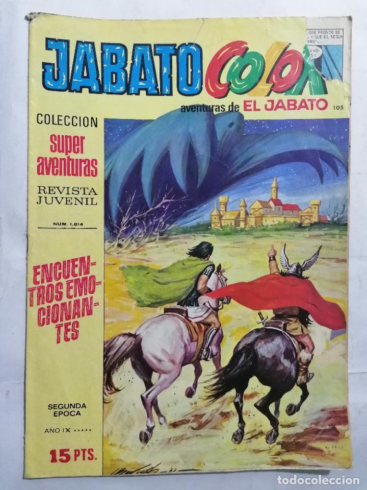 JABATO COLOR, AVENTURAS DE EL JABATO, Nº 1814, SEGUNDA EPOCA (Tebeos y Comics - Bruguera - Jabato)