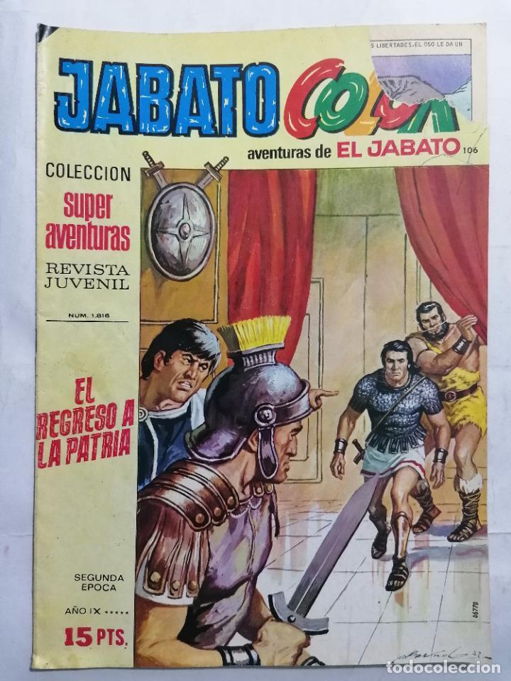 JABATO COLOR, AVENTURAS DE EL JABATO, Nº 1816, SEGUNDA EPOCA (Tebeos y Comics - Bruguera - Jabato)