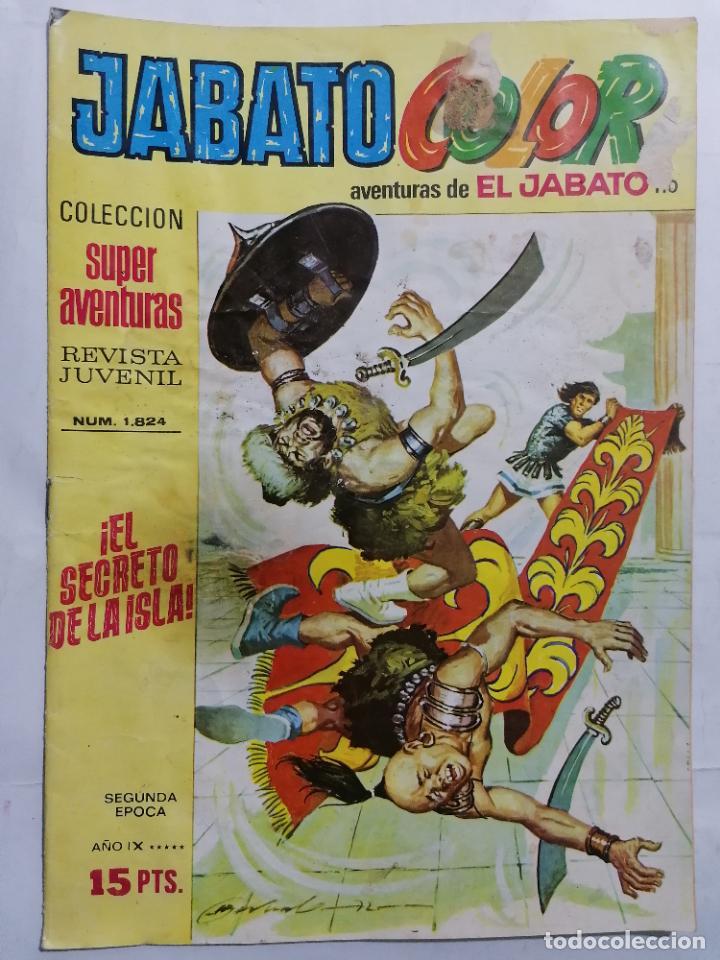 JABATO COLOR, AVENTURAS DE EL JABATO, Nº 1824, SEGUNDA EPOCA (Tebeos y Comics - Bruguera - Jabato)