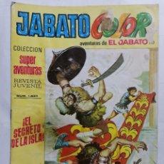 Tebeos: JABATO COLOR, AVENTURAS DE EL JABATO, Nº 1824, SEGUNDA EPOCA. Lote 221641886