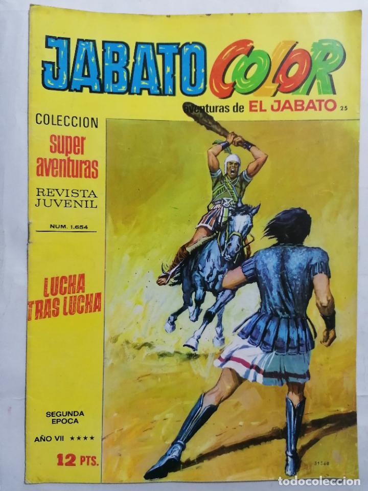 JABATO COLOR, AVENTURAS DE EL JABATO, Nº 1654, SEGUNDA EPOCA (Tebeos y Comics - Bruguera - Jabato)