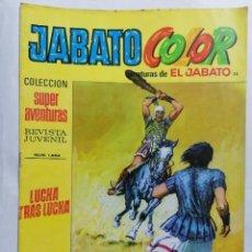 Tebeos: JABATO COLOR, AVENTURAS DE EL JABATO, Nº 1654, SEGUNDA EPOCA. Lote 221641935