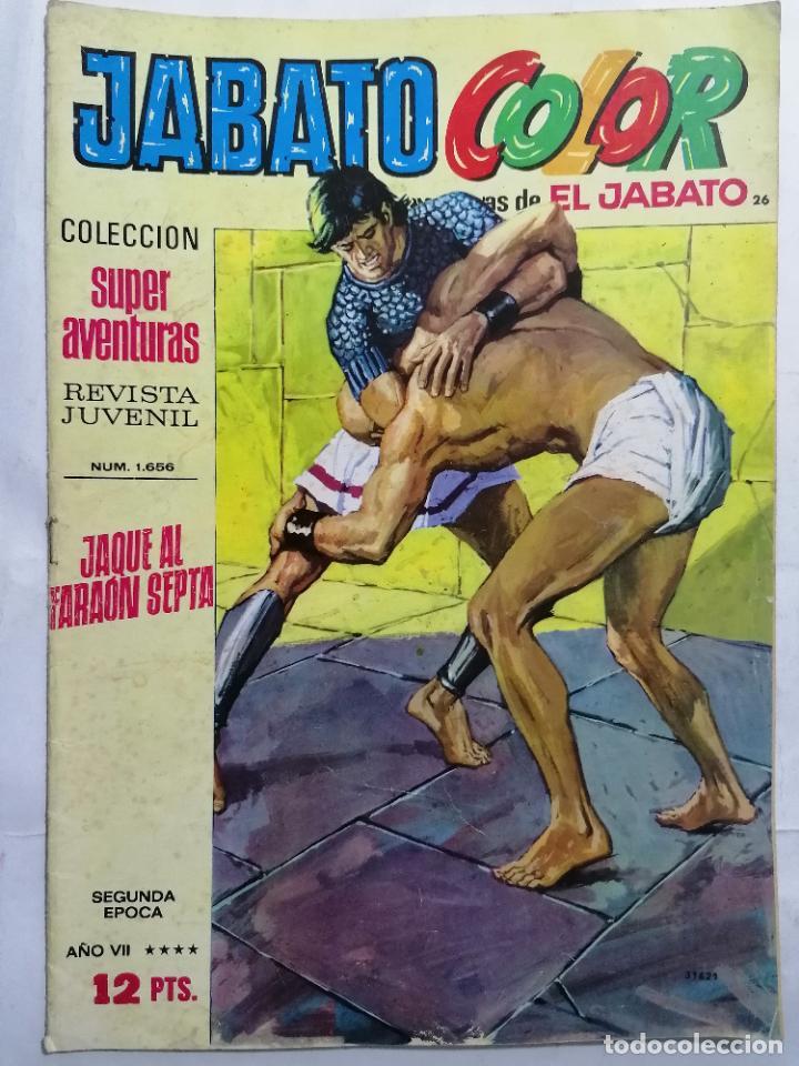 JABATO COLOR, AVENTURAS DE EL JABATO, Nº 1656, SEGUNDA EPOCA (Tebeos y Comics - Bruguera - Jabato)