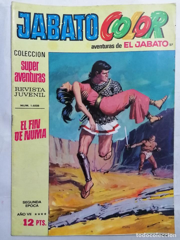 JABATO COLOR, AVENTURAS DE EL JABATO, Nº 1658, SEGUNDA EPOCA (Tebeos y Comics - Bruguera - Jabato)