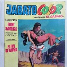 Tebeos: JABATO COLOR, AVENTURAS DE EL JABATO, Nº 1658, SEGUNDA EPOCA. Lote 221642012