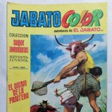 Tebeos: JABATO COLOR, AVENTURAS DE EL JABATO, Nº 1662, SEGUNDA EPOCA. Lote 221642097