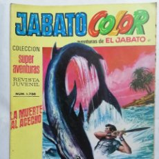 Tebeos: JABATO COLOR, AVENTURAS DE EL JABATO, Nº 1738, SEGUNDA EPOCA. Lote 221642185