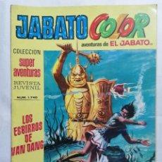 Tebeos: JABATO COLOR, AVENTURAS DE EL JABATO, Nº 1740, SEGUNDA EPOCA. Lote 221642212