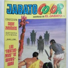 Tebeos: JABATO COLOR, AVENTURAS DE EL JABATO, Nº 1750, SEGUNDA EPOCA. Lote 221642381