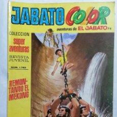 Tebeos: JABATO COLOR, AVENTURAS DE EL JABATO, Nº 1752, SEGUNDA EPOCA. Lote 221642452