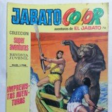 Tebeos: JABATO COLOR, AVENTURAS DE EL JABATO, Nº 1756, SEGUNDA EPOCA. Lote 221642486