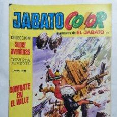 Tebeos: JABATO COLOR, AVENTURAS DE EL JABATO, Nº 1758, SEGUNDA EPOCA. Lote 221642500