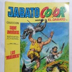 Tebeos: JABATO COLOR, AVENTURAS DE EL JABATO, Nº 1764, SEGUNDA EPOCA. Lote 221642571