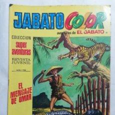 Tebeos: JABATO COLOR, AVENTURAS DE EL JABATO, Nº 1766, SEGUNDA EPOCA. Lote 221642622