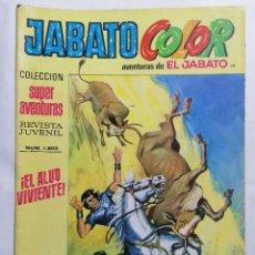 Tebeos: JABATO COLOR, AVENTURAS DE EL JABATO, Nº 1802, SEGUNDA EPOCA. Lote 221642732