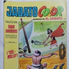 Tebeos: JABATO COLOR, AVENTURAS DE EL JABATO, Nº 1812, SEGUNDA EPOCA. Lote 221642761