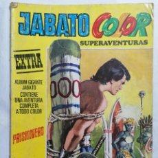 Tebeos: JABATO COLOR, SUPERAVENTURAS, EXTRA, Nº 2, TERCERA EPOCA. Lote 221642855