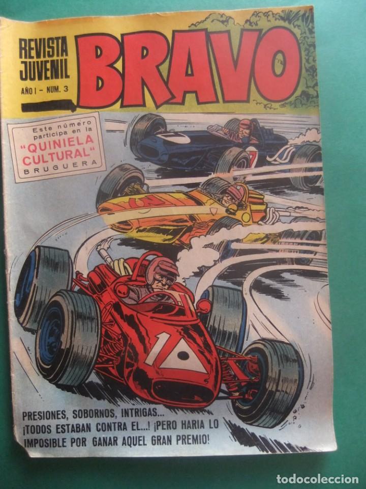 REVISTA BRAVO Nº 3 EDITORIAL BRUGUERA (Tebeos y Comics - Bruguera - Bravo)