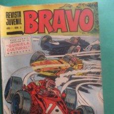 Tebeos: REVISTA BRAVO Nº 3 EDITORIAL BRUGUERA. Lote 221654937