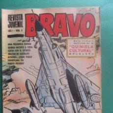 Tebeos: REVISTA BRAVO Nº 5 EDITORIAL BRUGUERA. Lote 221655037