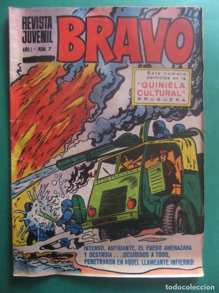REVISTA BRAVO Nº 7 EDITORIAL BRUGUERA (Tebeos y Comics - Bruguera - Bravo)