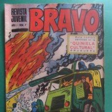 Tebeos: REVISTA BRAVO Nº 7 EDITORIAL BRUGUERA. Lote 221655160