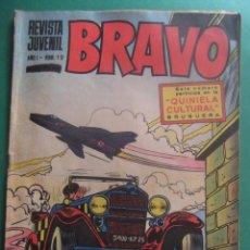 Tebeos: REVISTA BRAVO Nº 12 EDITORIAL BRUGUERA. Lote 221655283