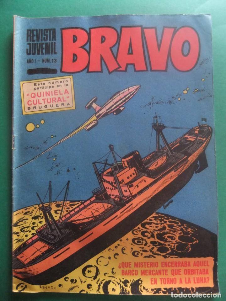 REVISTA BRAVO Nº 13 EDITORIAL BRUGUERA (Tebeos y Comics - Bruguera - Bravo)