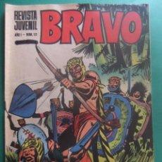 Tebeos: REVISTA BRAVO Nº 15 EDITORIAL BRUGUERA. Lote 221655405