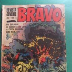Tebeos: REVISTA BRAVO Nº 16 EDITORIAL BRUGUERA. Lote 221655461