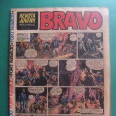 Tebeos: REVISTA BRAVO Nº 29 EDITORIAL BRUGUERA. Lote 221655648