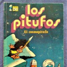 Tebeos: LOS PITUFOS Nº 5: EL COSMOPITUFO - EDICIONES B - 1ª EDICIÓN 1992. Lote 221682231