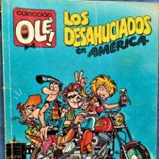 Tebeos: LOS DESAHUCIADOS EN AMERICA - 355-V.7 - EDICIONES B - 1ª EDICION 1989. Lote 221682760