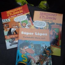 Tebeos: COMIC MORTADELO Y FILEMON Y SÚPER LOPEZ. Lote 221697090
