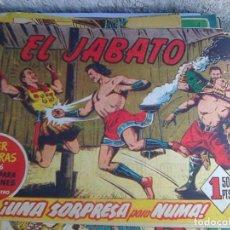 Tebeos: EL JABATO Nº 76 - UNA SORPRESA PARA NUMA (1958) SUPER AVENTURAS 266. Lote 221710203