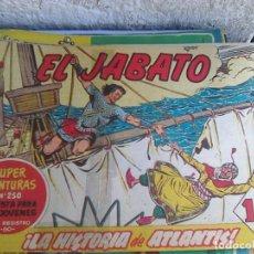 Tebeos: EL JABATO Nº 68 - LA HISTORIA DE ATLANTIS (1958) SUPER AVENTURAS 250. Lote 221710487