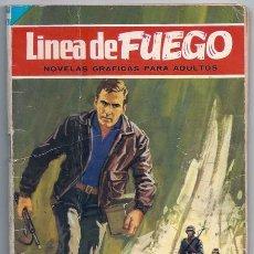 Tebeos: LÍNEA DE FUEGO, 5: OBJETIVO: LA MUERTE (VIDAL SALES, ESCANDELL) – BRUGUERA, 11/1965. Lote 221733193