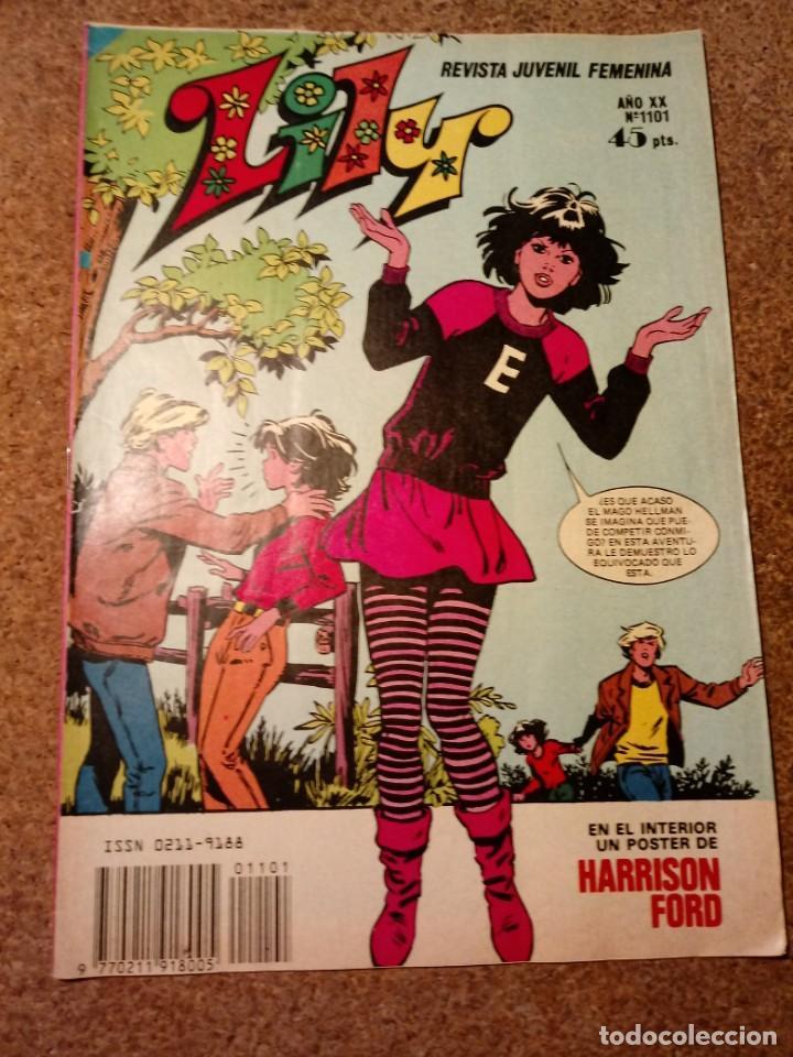 TEBEO LILY AÑO XX Nº 1101 (Tebeos y Comics - Bruguera - Lily)