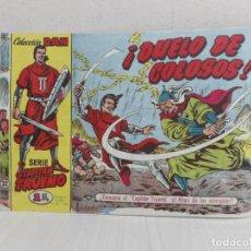 Tebeos: COMIC COLECCION CAPITAN TRUENO NO 22-1 EDICION -1,50 PTS-EDITORIAL BRUGUERA-AÑO 1958. Lote 221760411
