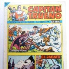 Tebeos: EL CAPITÁN TRUENO EXTRA Nº 204 - ¡TAMUNG ATACA!. Lote 221760687