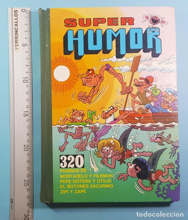 Tebeos: SUPER HUMOR VOLUMEN 1 MORTADELO Y FILEMON, PEPE GOTERA Y OTILIO, EL BOTONES SACARINO Y ZIPI ZAPE - Foto 3 - 237336520