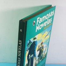 Tebeos: FAMOSAS NOVELAS BRUGUERA VOLUMEN 6 3ª EDICION 1986, DE LOS APENINOS A LOS ANDES.... Lote 221778086